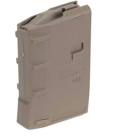 High Capacity Magazines-HERA USA H1 10 RND AR Magazine .223/5.56 10 Rounds Polymer Tan - 13-13-T-Cobratac SKU 797035682584