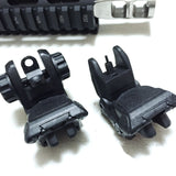 Iron Sight-Black Label Polymer Back Up/Flip Up Iron Sights-Cobratac SKU