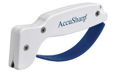 Knives-AccuSharp Knife Sharpener Plastic White-Cobratac SKU 015896000010