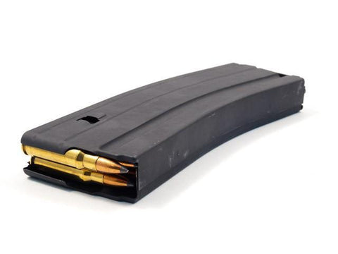 Magazines-Ammunition Storage Components, ASC Magazine, 6.8 SPC, AR Rifles, 25RND, Stainless, Black-Cobratac SKU MGASC68-25RD-SS