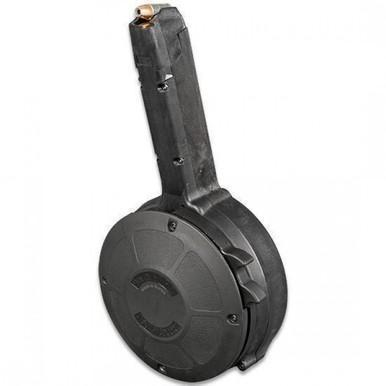 Magazines-Black Label Glock 9mm 50-Round Drum Magazine-Cobratac SKU 8809257220245