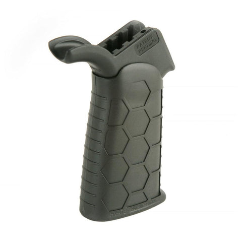 Pistol Grip-Hexmag Advanced Tactical Grip Black-Cobratac SKU HX-ATG-BLK