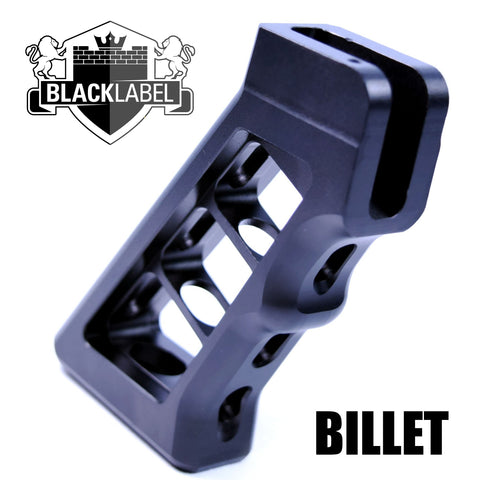 Pistol Grip-The Copeland Series Skeletonized Billet Grip | Black-Cobratac SKU tyrant-titan-TD-556