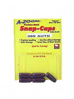 Safety/Protection-Azoom Snap Caps 380acp 5-pk-Cobratac SKU 666692151132