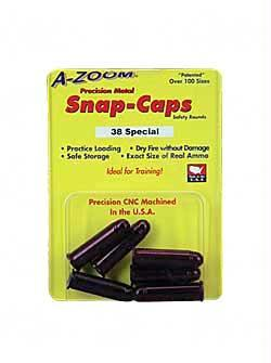 Safety/Protection-Azoom Snap Caps 38spl 6-pk-Cobratac SKU 666692161186