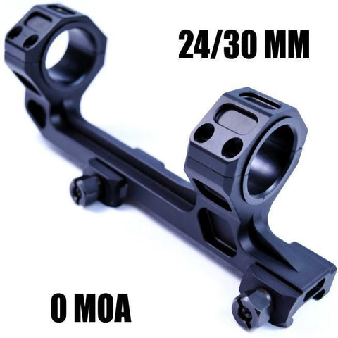 Scope Mounts-Cobratac Ultra Match Scope Mount | 25/30MM 0 MOA-Cobratac SKU NGA1144