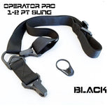 Slings-CTAC Operator PRO Multi Use Adjustable Sling | Black-Cobratac SKU