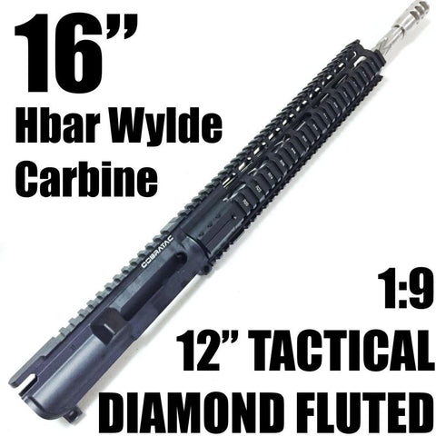 "UPPER BUILDS-16"" DIAMOND FLUTED SS-UL REC 