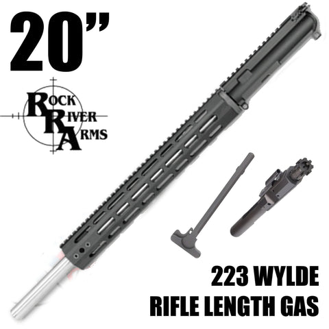"UPPER BUILDS-20"" Rock River Arms Varmint Flat Top Upper 