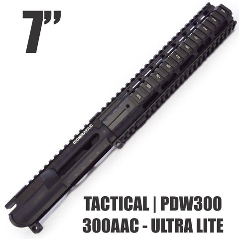 UPPER BUILDS-7 TACTICAL PDW300 | 300 AAC BLACKOUT-Cobratac SKU