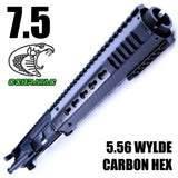 "UPPER BUILDS-7.5"" 1:7 5.56/.223 WYLDE 