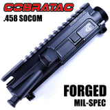 Upper Receiver-.458 SOCOM Complete M4 Upper Receiver - Anodized Black-Cobratac SKU AR15-A3-FOR-UM