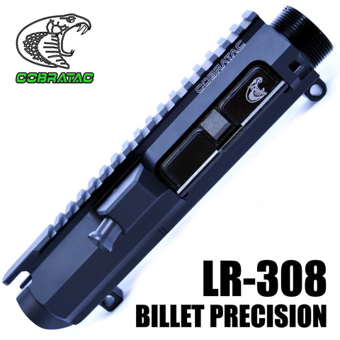 Upper Receiver-Cobratac LR-308 Lo-Pro Billet Precision Upper Receiver | Multi Caliber-Cobratac SKU ASSEMBLY