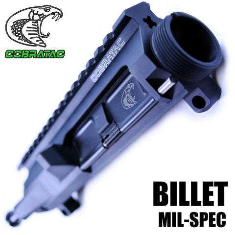 Upper Receiver-Cobratac M4 Billet Upper Match Receiver | Multi-Caliber-Cobratac SKU ASSEMBLY ITEM NO MPN