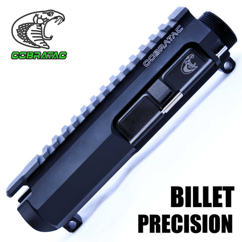 Upper Receiver-Cobratac Precision Billet Upper Match Receiver | Multi-Caliber-Cobratac SKU ASSEMBLY ITEM NO MPN