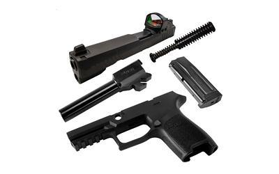 Upper/Conv Kits-High Cap-Sig Cal-x Kit P320 Comp Rx 9mm Black-Cobratac SKU 798681577484