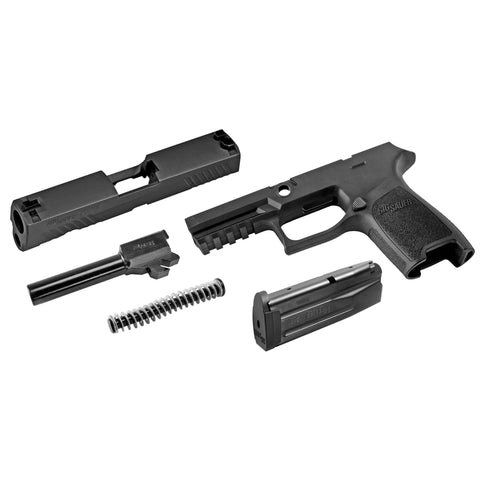 Upper/Conv Kits-High Cap-Sig Cal-x Kit P320 Crry 9mm 15rd-Cobratac SKU 798681543168