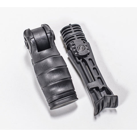 Vertical Forward Grips-CTS V2 Vertical Forward Grip, Polymer, 5 Position lock, w/Storage | Bipod Optional-Cobratac SKU