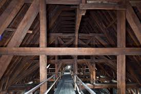 "The timber roof of Notre Dame de Paris, known as ""the forest""."
