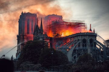 Notre Dame Paris Fire April 15, 2019