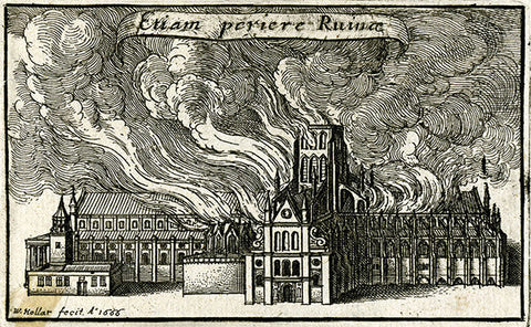 Old St. Paul's - London Fire of 1666