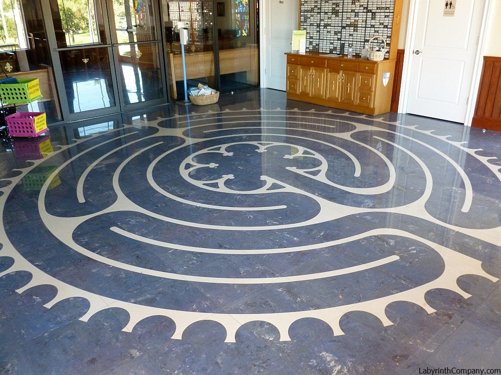 Ceramic Floor Tile Kits - The Labyrinth Company
