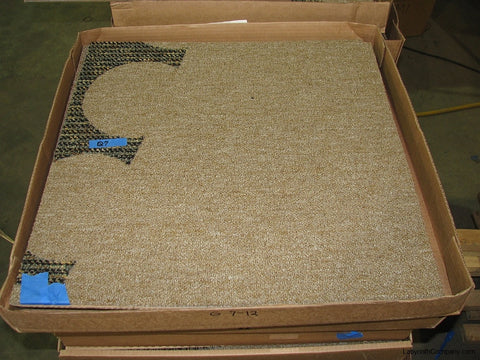 Carpet Tile for Labyrinth in packing case