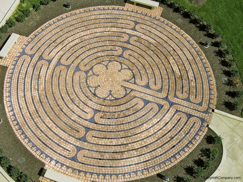 Chartres Replica™ Paver Brick Labyrinth Kit