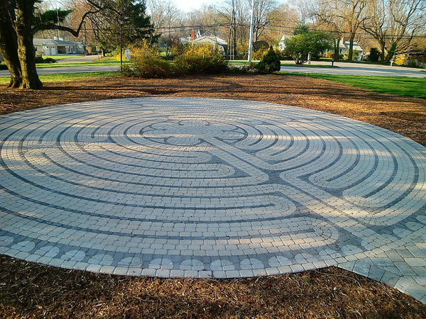 Chartres Replica Paver Brick Labyrinth Kit Labyrinth Company The Labyrinth Company