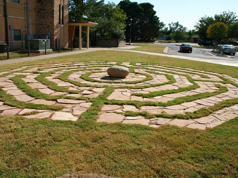 Labyrinth Designs Garden elaborate free flowing hedge maze Chelsea Octagonal Design Labyrinthcompanycom