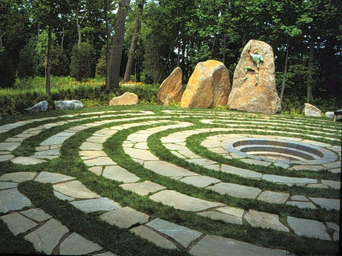 Labyrinth Designs Garden the canterbury labyrinth by haywood landscapes professional garden design and construction Abingdon Design Labyrinthcompanycom