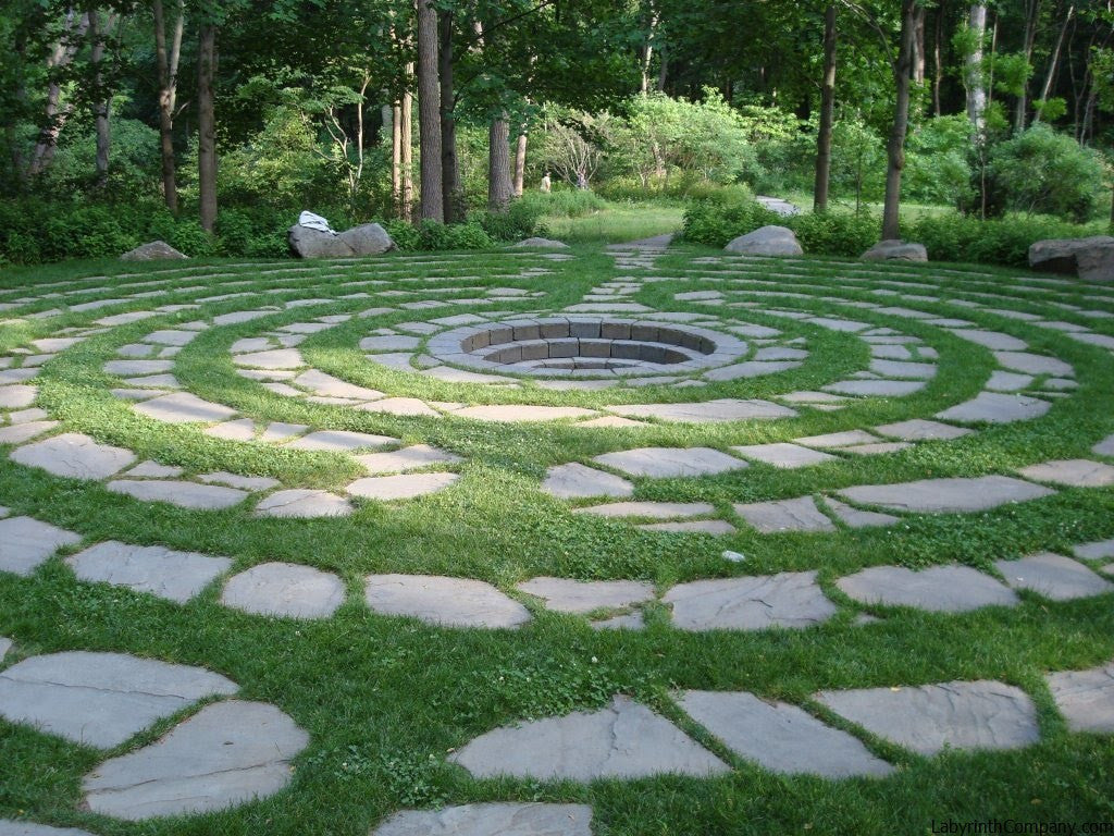 Labyrinth Designs Garden the lavender labyrinth garden Abingdon Design Labyrinthcompanycom
