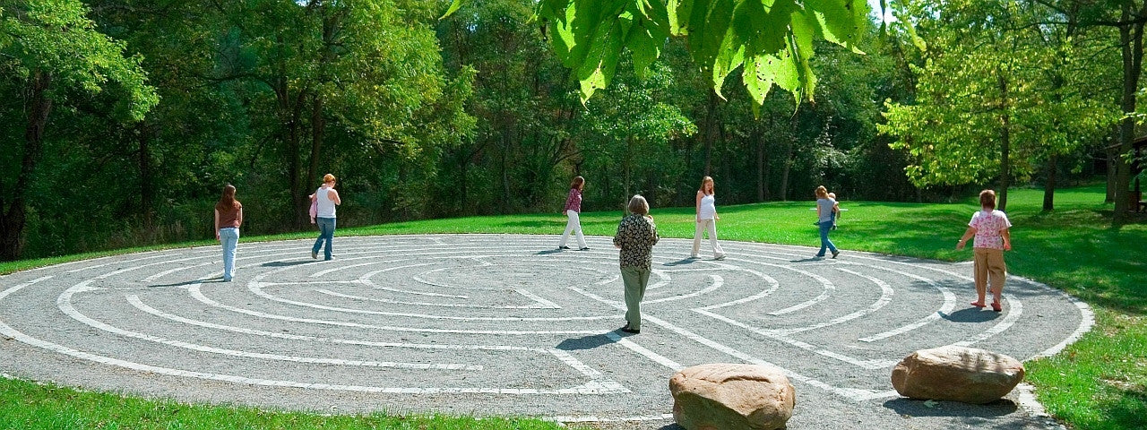 Allegany College Labyrinth, Cumberland MD