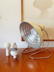 Butter coloured Industrial Lamp