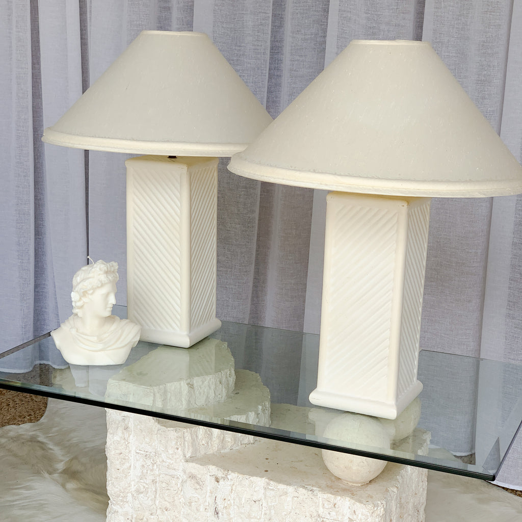 Embossed Lamp - One Left