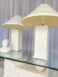 Embossed Lamp - Two Available