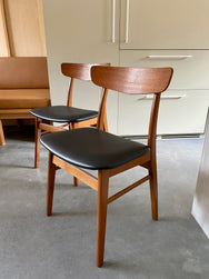 Teak Danish Chairs by Farstrup Mobler