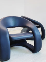 Vintage Jaymar Tongue Chair