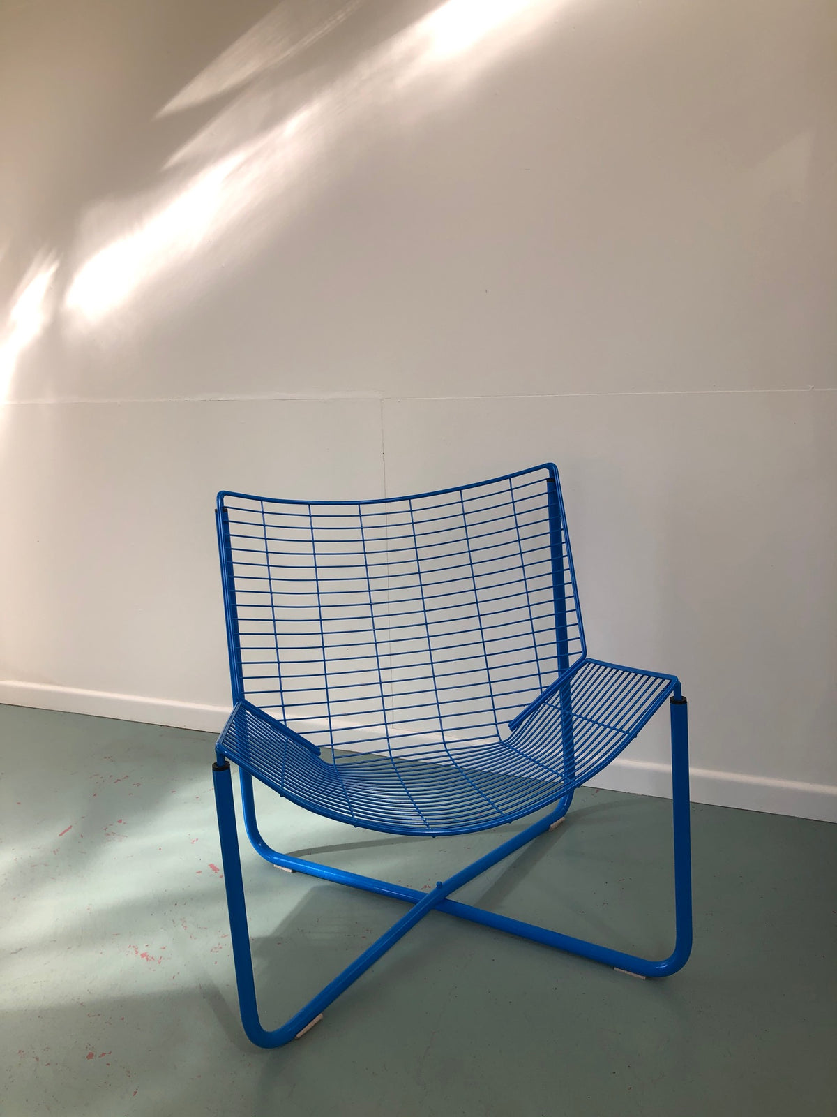 IKEA Jarpen Wire Lounge Chair, 1980s