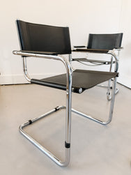 Mart Stam style S34 Cantilever Chair - Price is Per Chair