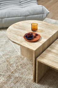 Tall Ellipse Coffee Table / Side Table