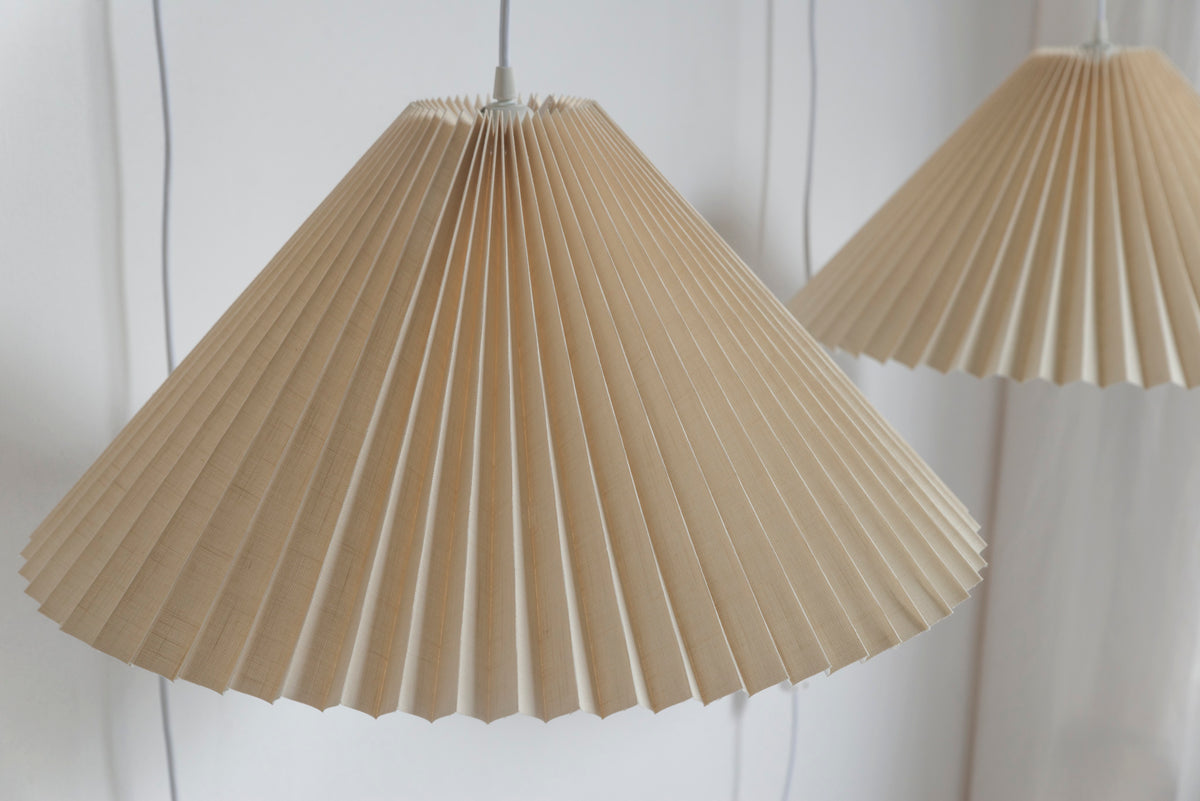 Danish Pleated Pendant