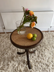 Rattan Side Table