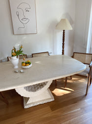 Fossil Stone Dining Table