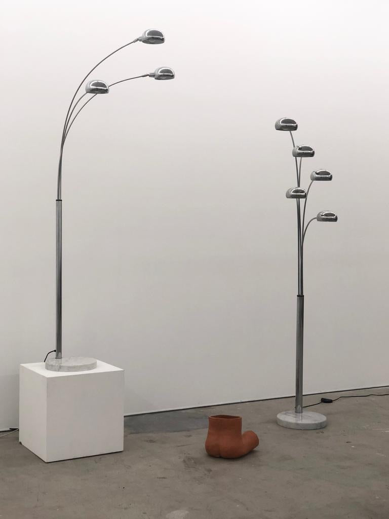 Chrome Floor Lamps
