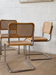 Set of Four Cesca Chairs - Made in Italy