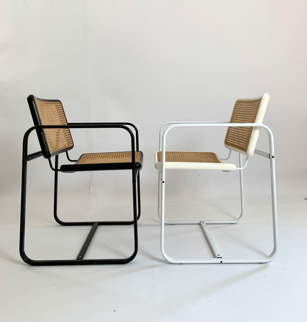 Vintage Italian Cantilever Armchair (One Remaining)