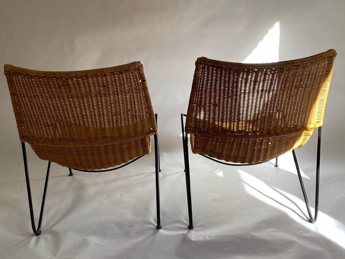 Rattan Deck Chairs