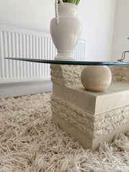 Fossil Stone Coffee Table