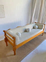 Vintage Handmade Day Bed / Sofa